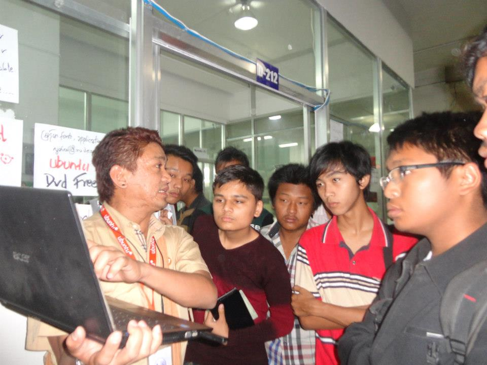 Barcamp Mandalay